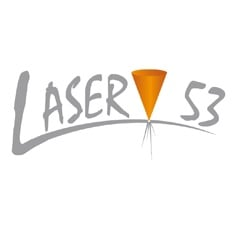 Logo Découpe laser - Laser 53