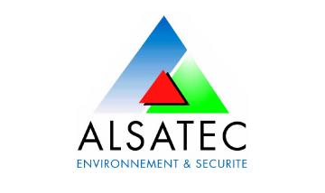 Logo Alsatec Environnement et Securite Industriels