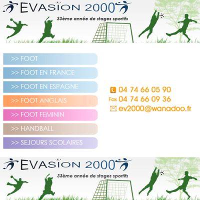 Stage de football - Evasion 2000