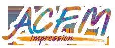 Logo Acfm Impression