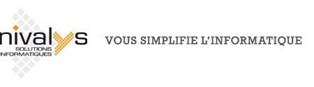 Logo Nivalys Solutions Informatiques