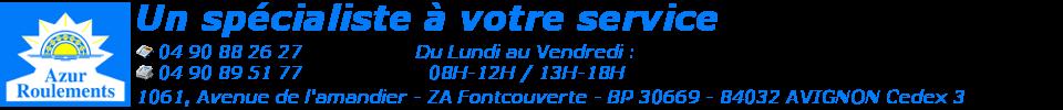 Logo SARL Azur Roulements