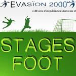 Logo Stage de football - Evasion 2000