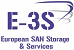 Logo E 3S European San Storage & Services
