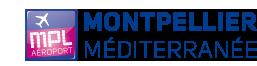 Logo Aeroport de Montpellier Mediterranee