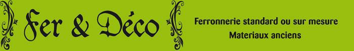 Logo Fer et Deco