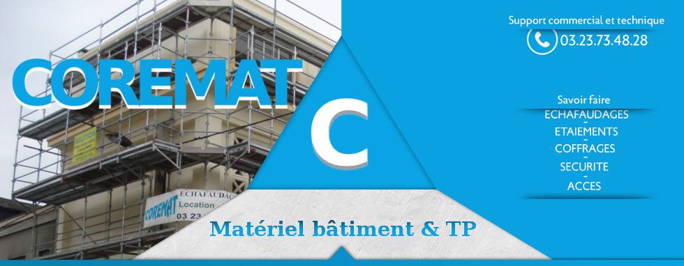 Logo Coremat-Corcy Echafaudage et Materiel