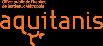 Logo Aquitanis Office Public de l'Habitat de Bordeaux Metropole