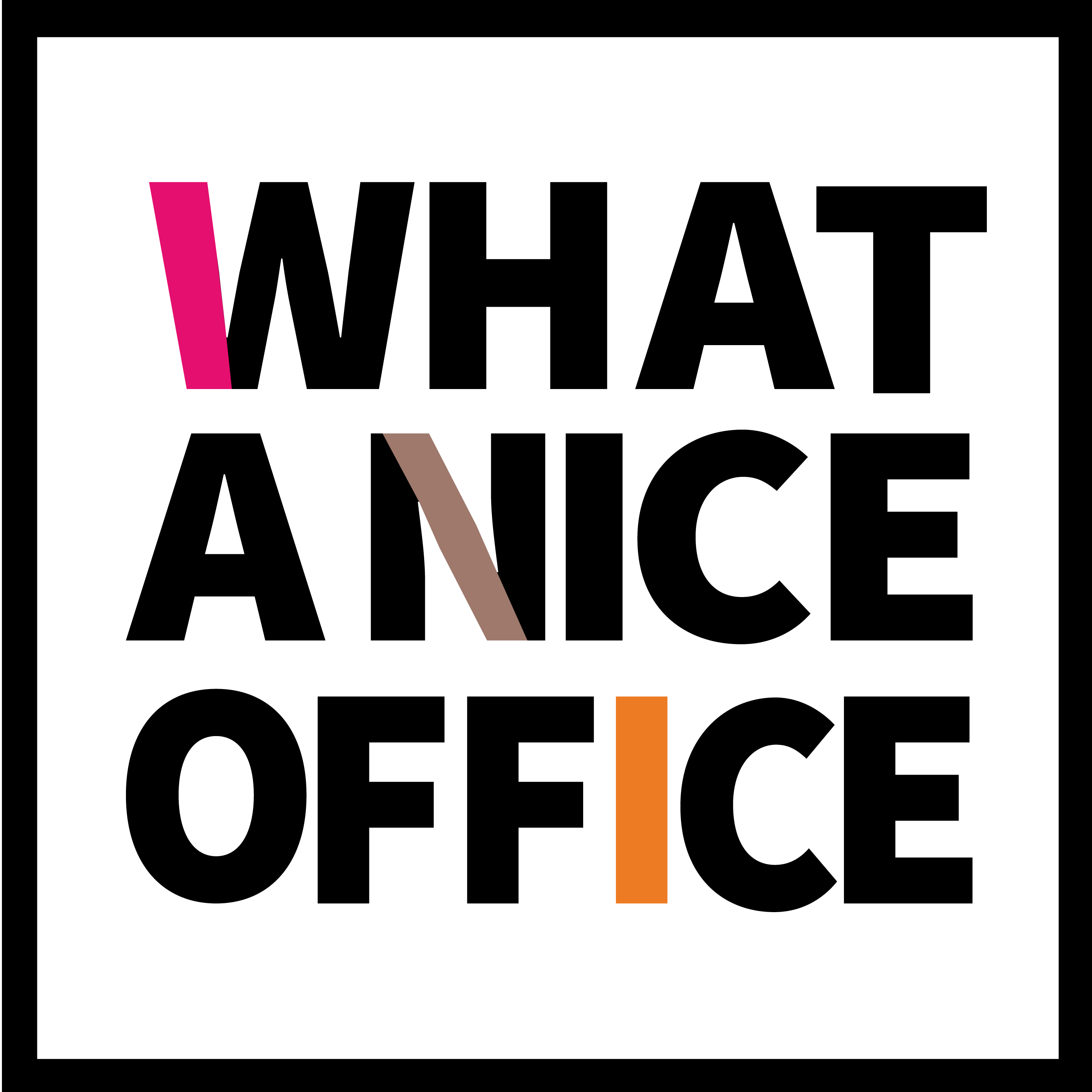 Logo What A Nice Office