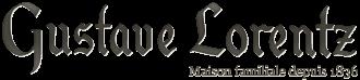 Logo Francis Lorentz, Jean Weibel, Jean Kellerknecht, Jean Neubert, Gustave Lorentz, Aime Guthmann