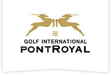 Logo Golf International de Pont Royal