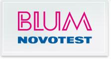 Logo Blum Novotest