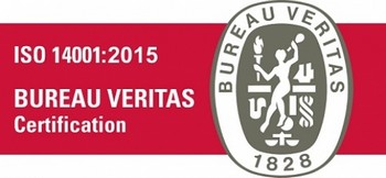 Certification ISO 14001 Bureau Veritas