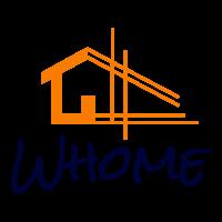 Logo Whome - Courtier en travaux