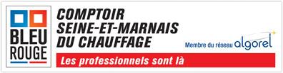 Logo Comptoir Seine-et-Marnais du Chauffage
