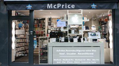 McPrice ( Mac Apple Shop Réparation )