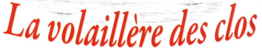 Logo La Volaillere des Clos