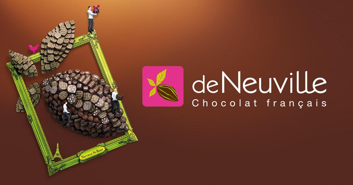 Logo Marche au Chocolat de Neuville