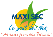 Logo Maceo Distribution Maxi Sec la Maison Creole