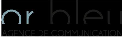 Logo Or Bleu Communication