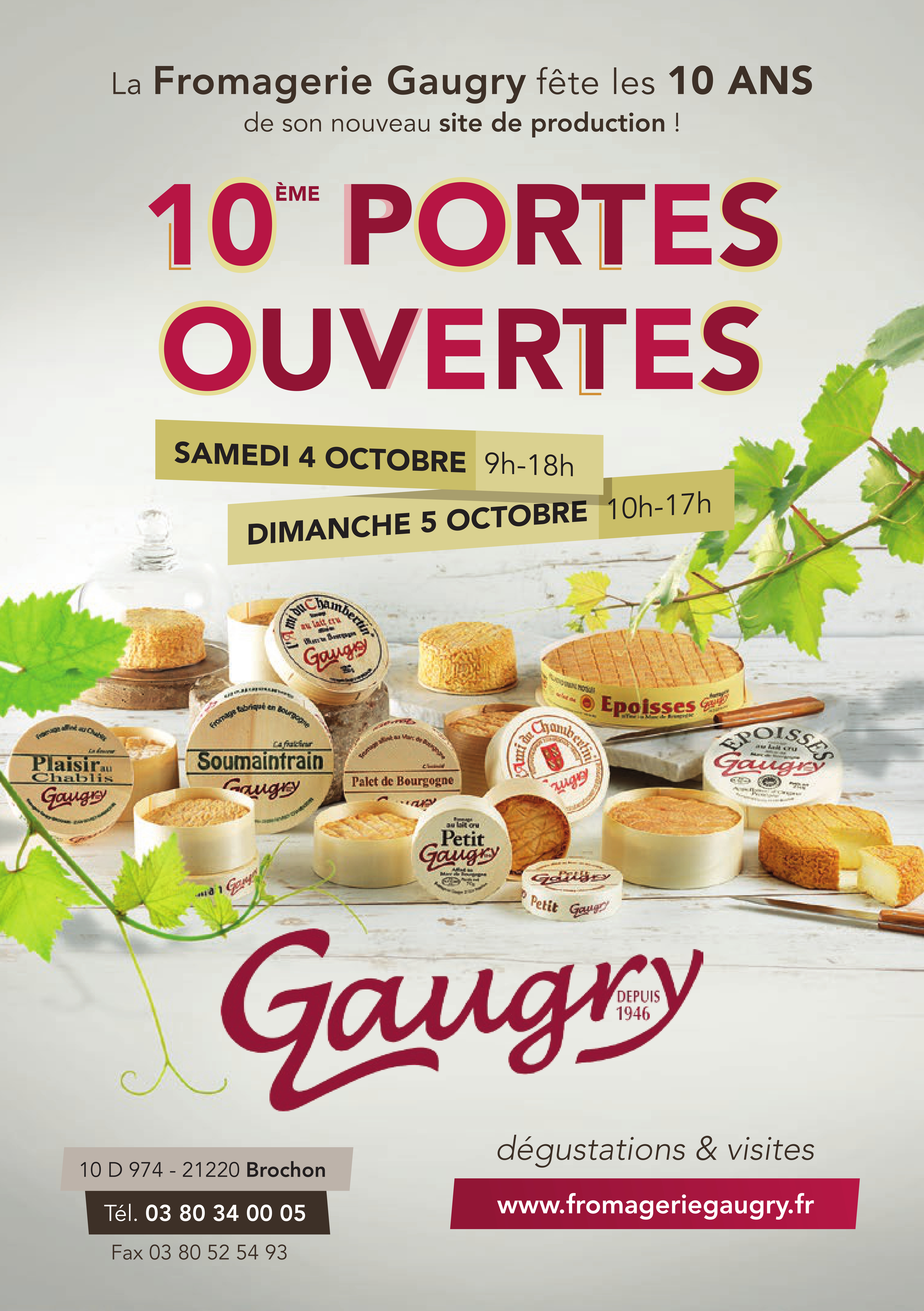 Logo Fromagerie Gaugry