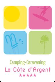 Logo Camping de la Cote d'Argent