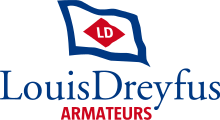Logo Louis Dreyfus Armateurs Sas