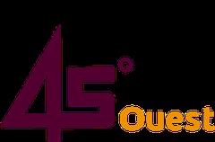 Logo 45 Degres Ouest- Etablissements Georgelin et F