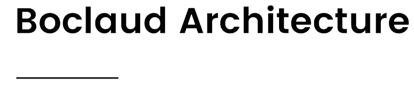 Logo Boclaud Architecture