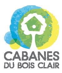 Logo Cabanes du Bois Clair