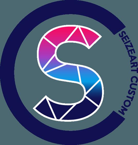 Logo Seizeart Custom