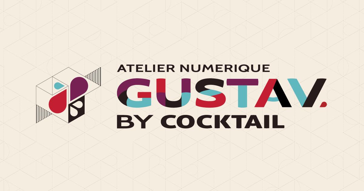 Logo Gustav By Cocktail