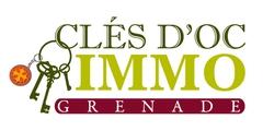 Logo Cles d'Oc Immo