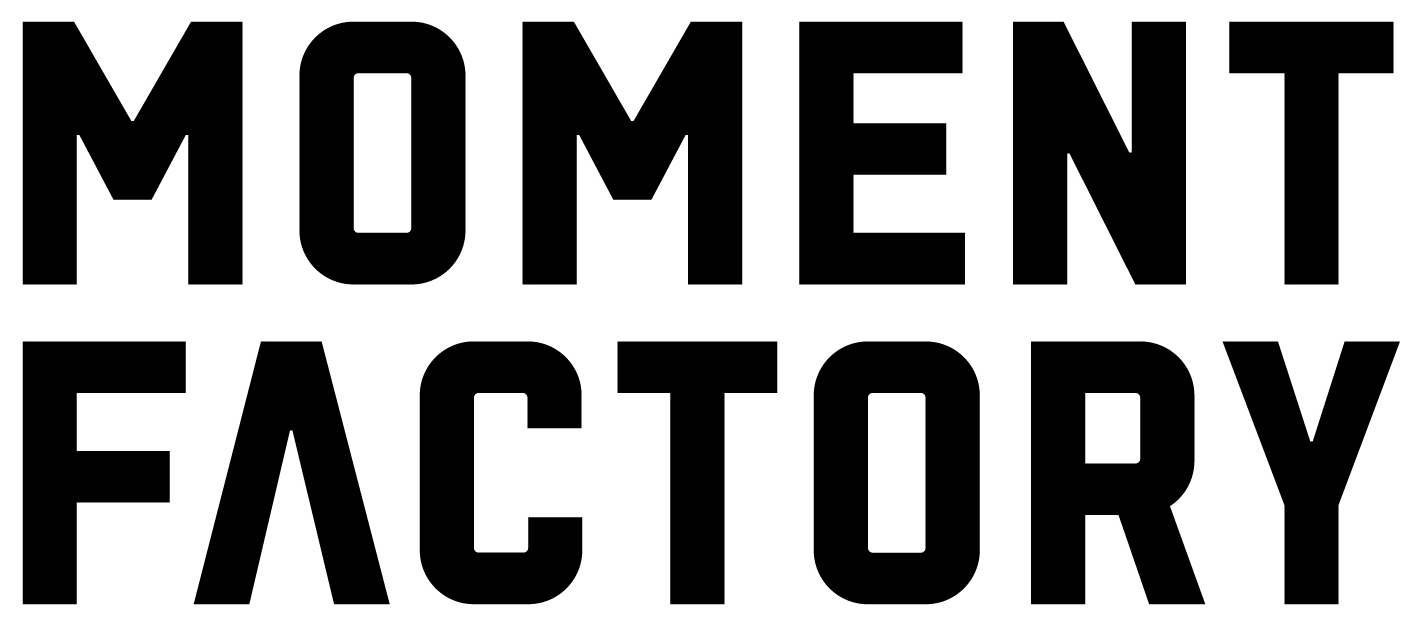 Logo Moment Factory Sept