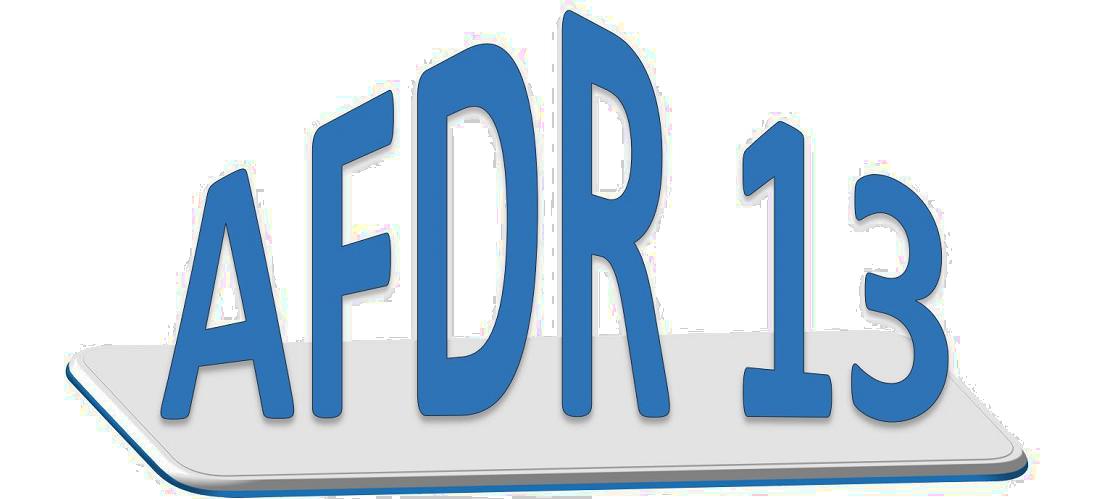 Logo AFDR 13