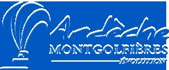 Logo Captain Ludo et la Montgolfiere Geante Ardeche Montgolfieres Evolution