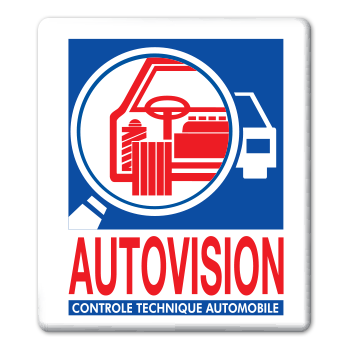 Logo Autovision Controle Technique Automobile