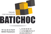 Logo Batichoc Demolition