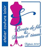 Logo Bouts de Fils et Bouts d'Tissus
