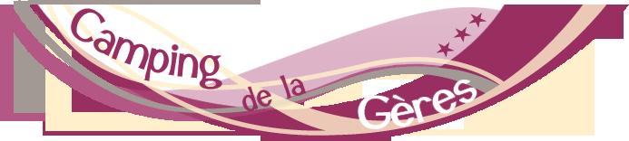 Logo Camping de la Geres