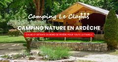 Logo Camping le Clapas