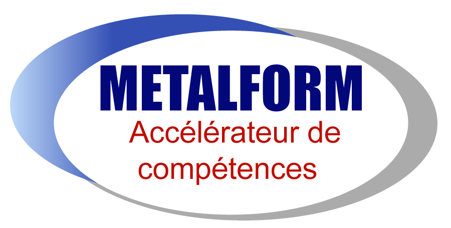 Logo Metal Form