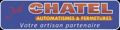 Logo SARL Chatel Automatismes et Fermetures