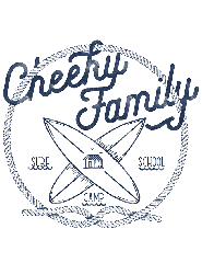 Logo Cheeky'S Family Surf