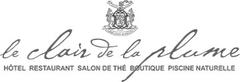 Logo Le Clair de la Plume