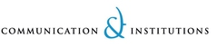 Logo Communication & Institutions