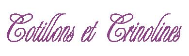 Logo Cotillons et Crinolines