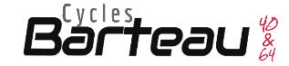 Logo SARL Cycles Barteau 64