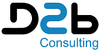 Logo D2B Consulting, Direct To Business, Di