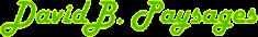 Logo David B Paysages